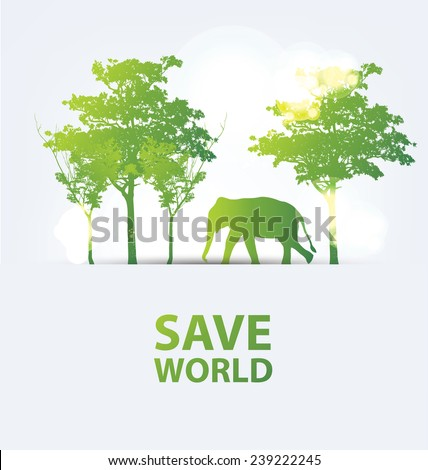 Go green save nature essay