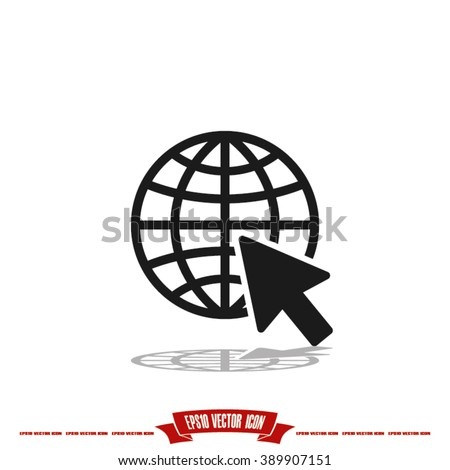 Go to web Icon, go to web icon flat, go to web icon picture, go to web icon vector, go to web icon EPS10, go to web icon graphic, go to web icon object, go to web icon JPEG, go to web icon picture - stock vector
