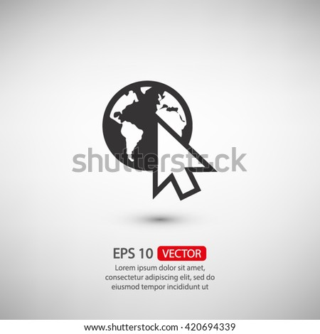 go to web icon vector, go to web icon eps, go to web web icon, go to web icon picture, go to web icon art, go to web icon, go to web icon jpg, go to web icon object, go to web icon flat, go to web - stock vector