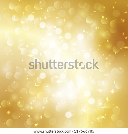 Gold background - stock vector