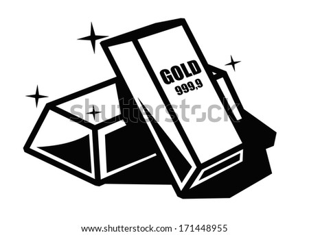Gold Bar Stock Vectors & Vector Clip Art | Shutterstock