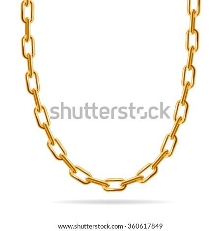 Gold Chain Stock Images RoyaltyFree Images Vectors Shutterstock
