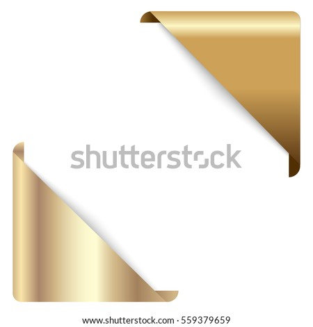 Gold Corner Stock Images Royalty Free Images Amp Vectors