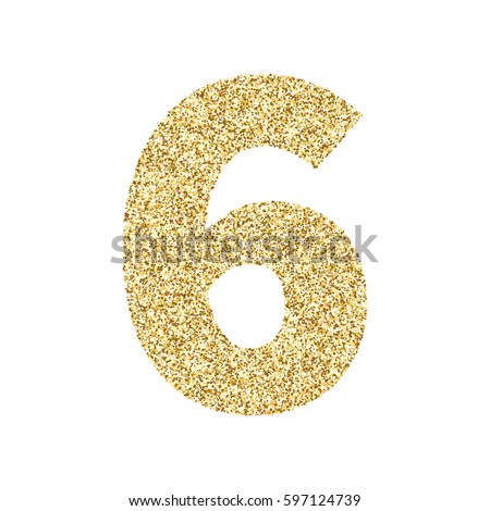 Glitter Numbers Stock Images, Royalty-Free Images ...