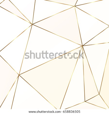 Gold glitter triangles. Geometric shapes. Golden polygonal texture. Diamond pattern. Template for creative designs, card, invitation, party, birthday, wedding, anniversary, save the date, business.