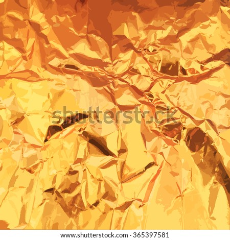 gold in the form of the background foil style vector