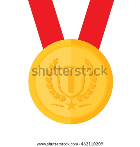 Gold medal champion icon