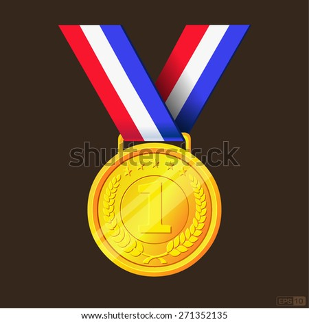 Gold Medal - Illustration