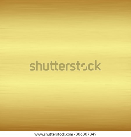 Gold polished metallic texture for background,Vector illustration - stock vector