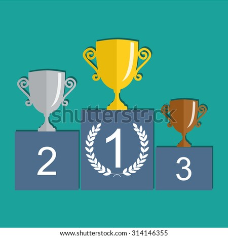 Winners Stand Stock Images, Royalty-Free Images & Vectors ...