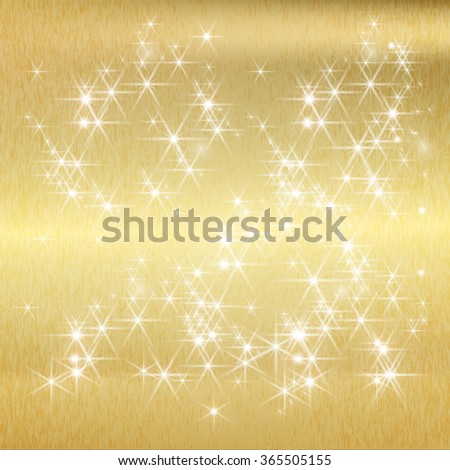 Gold Texture . Gold Background Texture . Gold Glitter Texture . Gold Sparkles Background . Gold Painted Background . Golden Shiny Wallpaper . Gold Vector . Shine Gold Background . Gold Background . - stock vector