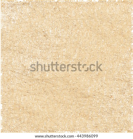 Gold uneven surface scratches. Rough wall texture. Abstract vector. - stock vector