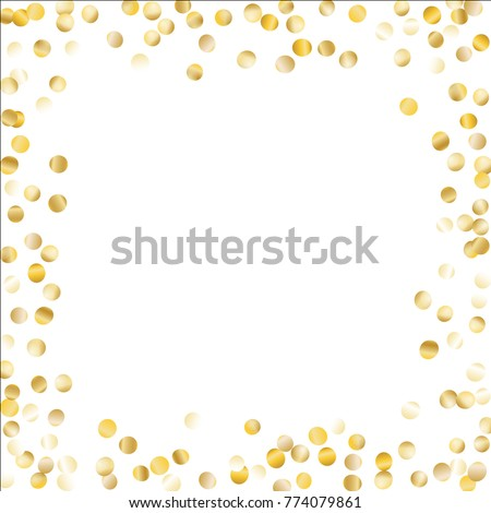 Vector Background Gold Hearts Golden Hearts Stock Vector - Golden gold birthday invitation background