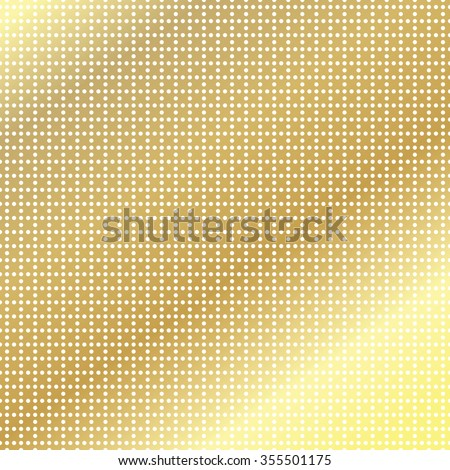 golden texture of the points in Illustrator