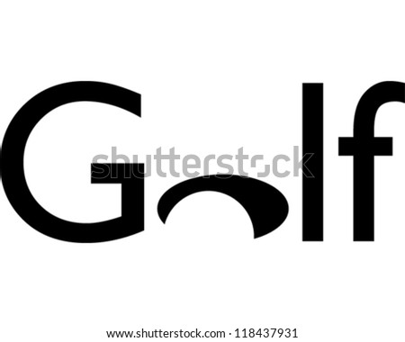 Golf - stock vector
