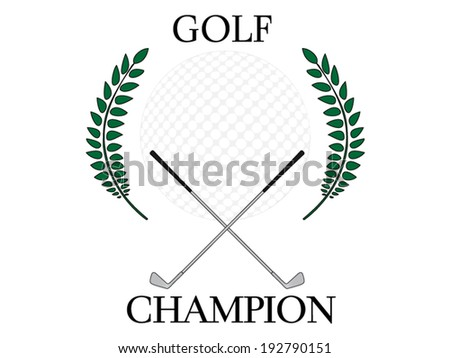 Golf Champion 4 - stock vector
