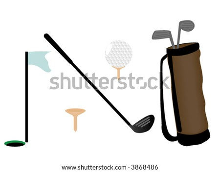 Golf Icons - Vector