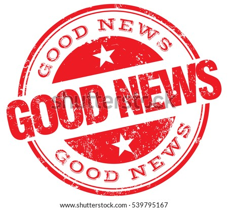 Good news stamp stock vector royalty free 539795167 shutterstock good news stamp publicscrutiny Gallery