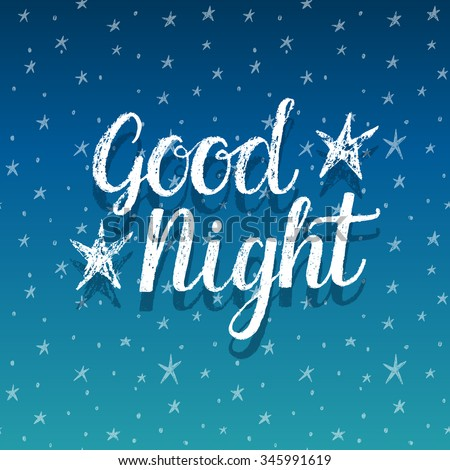 Good Night Stock Vectors & Vector Clip Art | Shutterstock