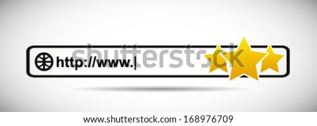 Good Rating Site - stock vector
