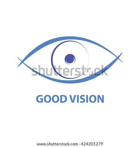 Good vision icon  - stock vector