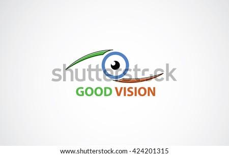 Good vision icon  - stock vector