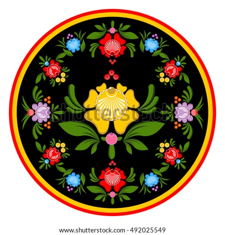 Stock images royalty free images vectors shutterstock for Folk art craft paint