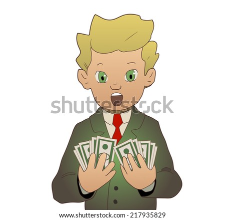 got money - stock vector