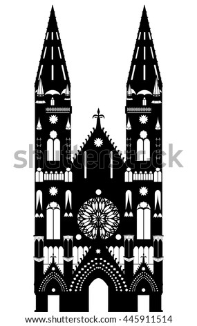 Gothic CathedralGothic Church Medieval Ages Temple