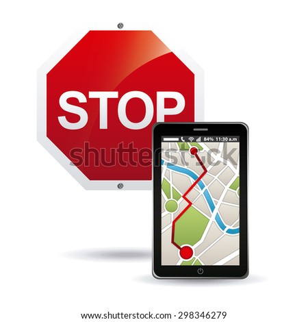gps technology design, vector illustration eps10 graphic