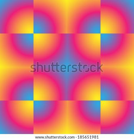 Gradient pixel pattern, background for a tile. Vector illustration. - stock vector