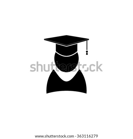 Graduate Icon - stock vector
