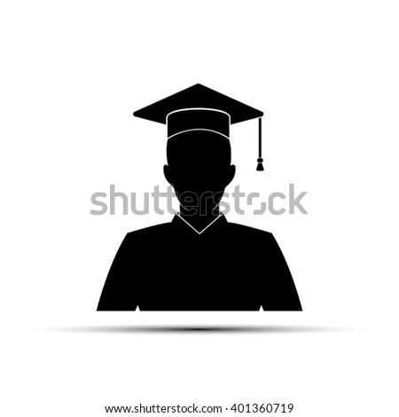 Graduate Icon. Graduate Icon EPS10. Graduate Icon Vector. Graduate Icon JPEG. Graduate Icon Object.  Graduate Icon Image. Graduate Icon Graphic. Graduate Icon Art. Graduate Icon JPG. Graduate Icon AI - stock vector