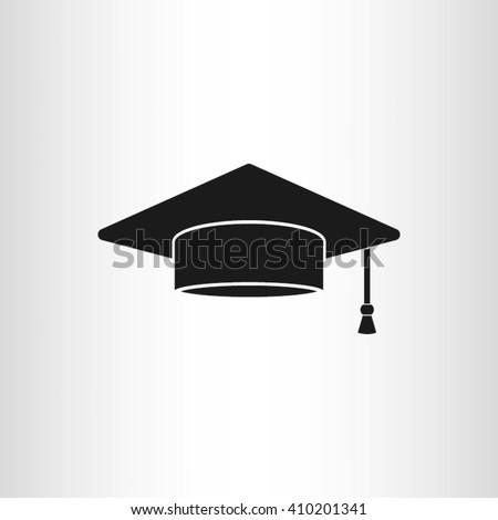 Graduation cap icon vector illustration eps10. - stock vector