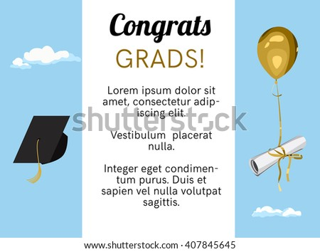 Graduation Invitation Stock Images, Royalty-Free Images & Vectors ...