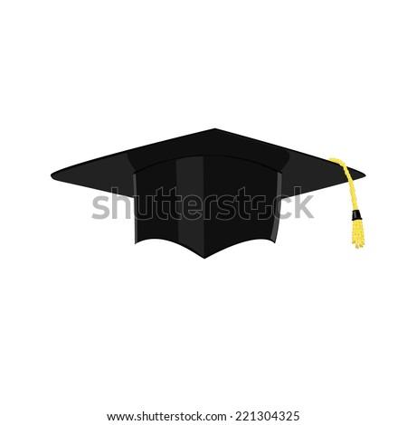 Graduation,  graduation hat,  graduation cap icon - stock vector