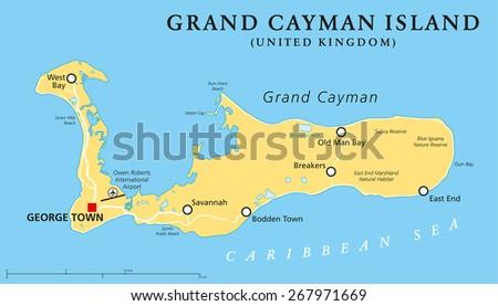 Cayman Islands Map Stock Images RoyaltyFree Images Vectors - Cayman islands map caribbean