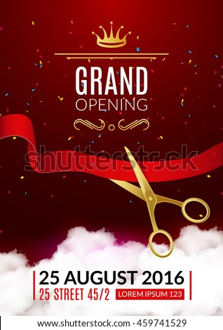 Grand Opening Stock Images, Royalty-Free Images & Vectors