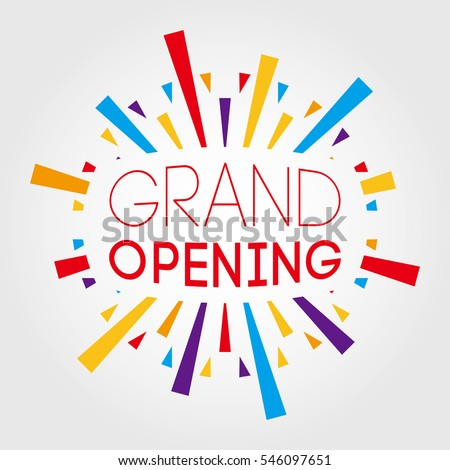 free grand opening template