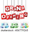 grand opening, red vector grand opening, flat tag grand opening, set tags grand opening, element grand opening, sign grand opening, design grand opening, background grand opening, grand opening eps10 - stock photo