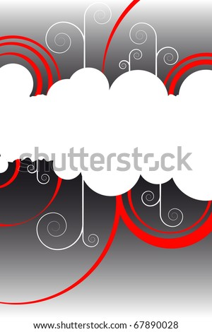 Grange  background - stock vector