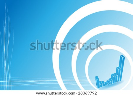 Graph - stock vector