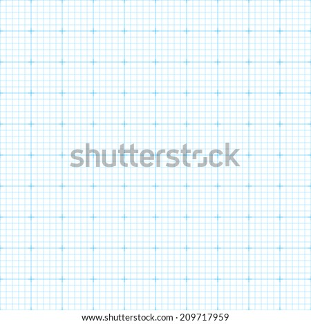 Graph, millimeter paper. Seamless vector. - stock vector