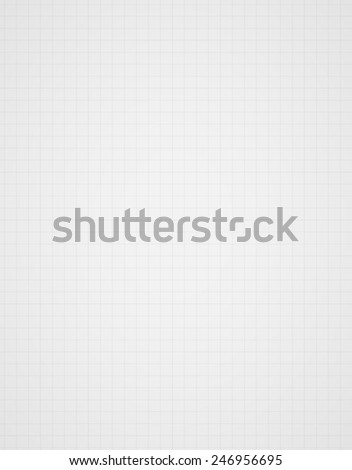 graph paper background with many small squares - stock vector