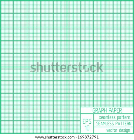 Graph paper pattern. Real scale. - stock vector