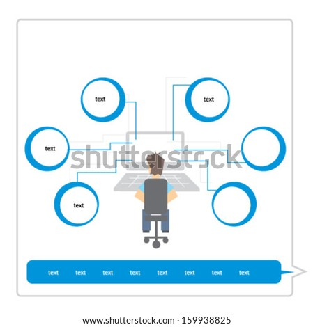 graphic - stock vector