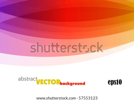 Graphic colorful modern background design (eps10) - stock vector
