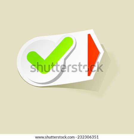 graphic design logo label check pointer