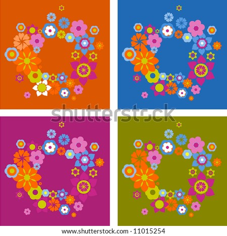 graphic elements and pattern - stock vector