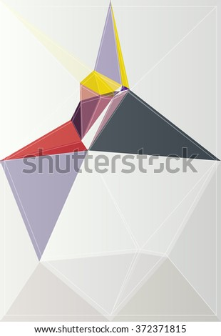 graphic geometric pattern shape